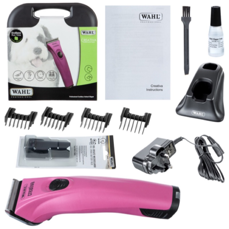 Wahl Creativa clipper, what's in the box.